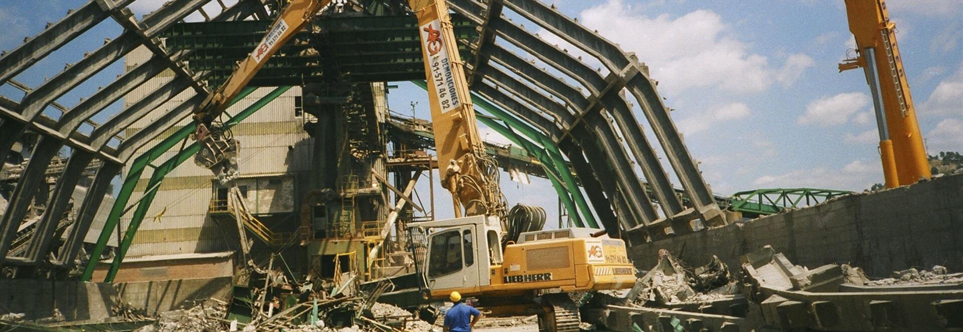 Demoliciones industriales - AG Construcciones