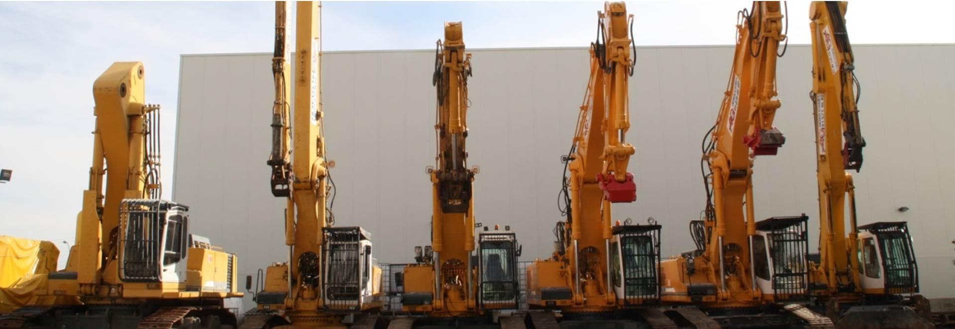 Maquinaria para demolición - AG Construcciones