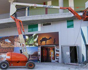 AG Construcciones - Desmontaje de amianto - JLG 600 AJ