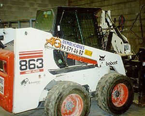 AG Construcciones - Maquinaria ligera - BOBCAT 863