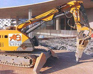 AG Construcciones - Maquinaria ligera - BROKK 330