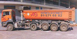 AG Construcciones - Medios de transporte - CAMIÓN BAÑERA