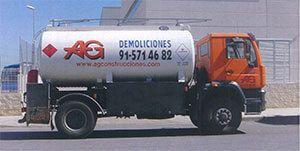 AG Construcciones - Medios de transporte - CAMIÓN CISTERNA