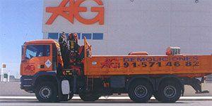 AG Construcciones - Medios de transporte - CAMIÓN GRÚA