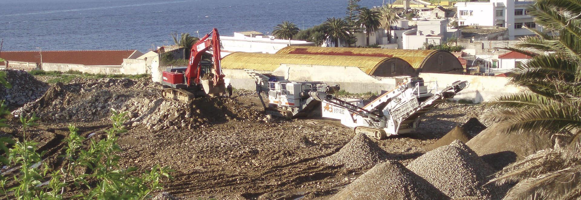 Demolicion Cuartel Las Heras, Ceuta - AG Construcciones y demoliciones