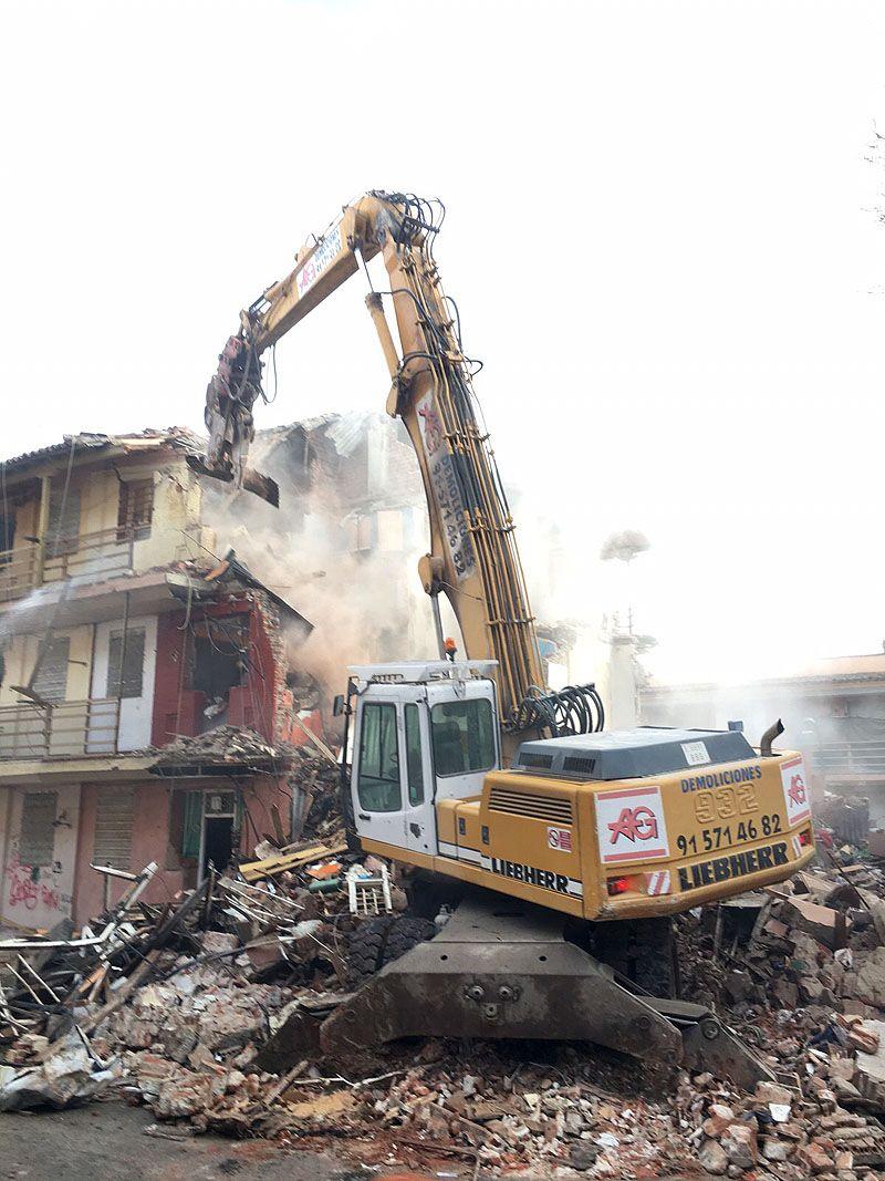 demolicion de edificios madrid empresa de demoliciones ag construcciones