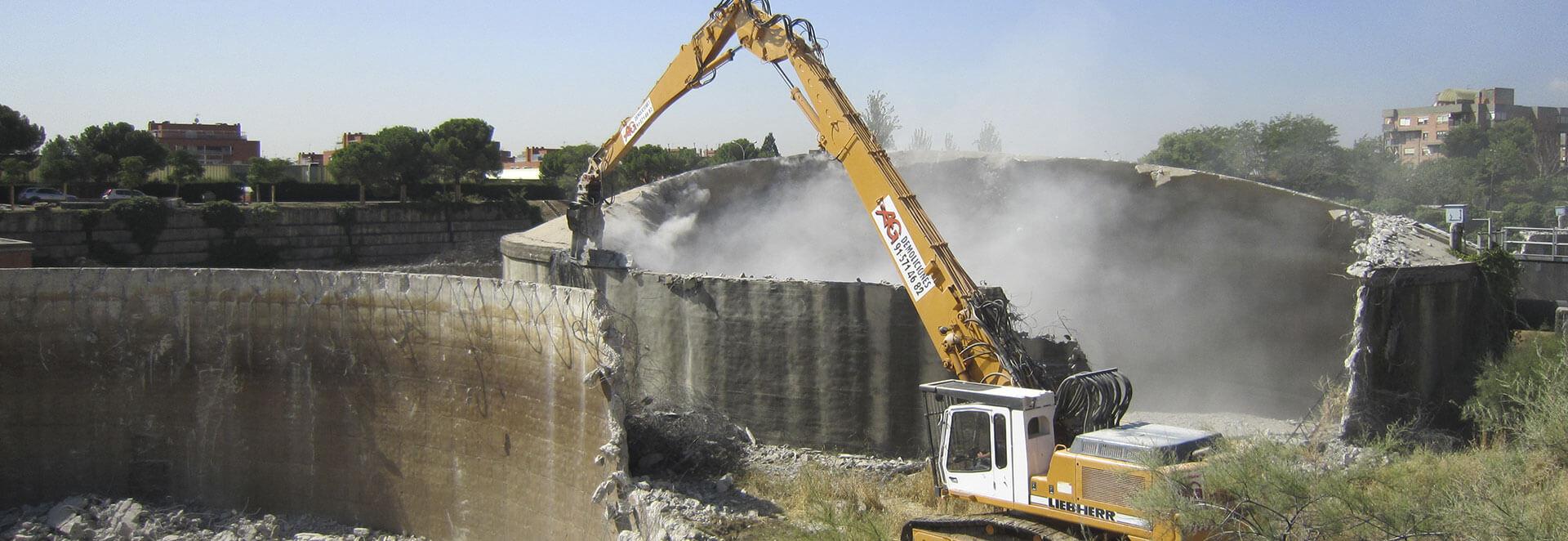Demolición - Empresa de demoliciones - AG Construcciones