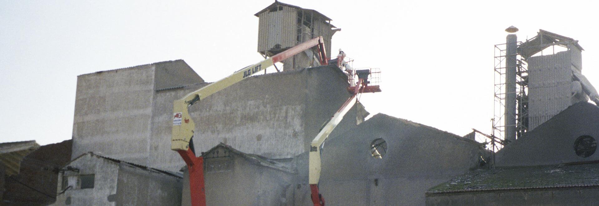 Retirada de amianto - AG Construcciones