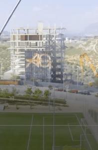 Demolición de 6 bloques en estructura. Alicante