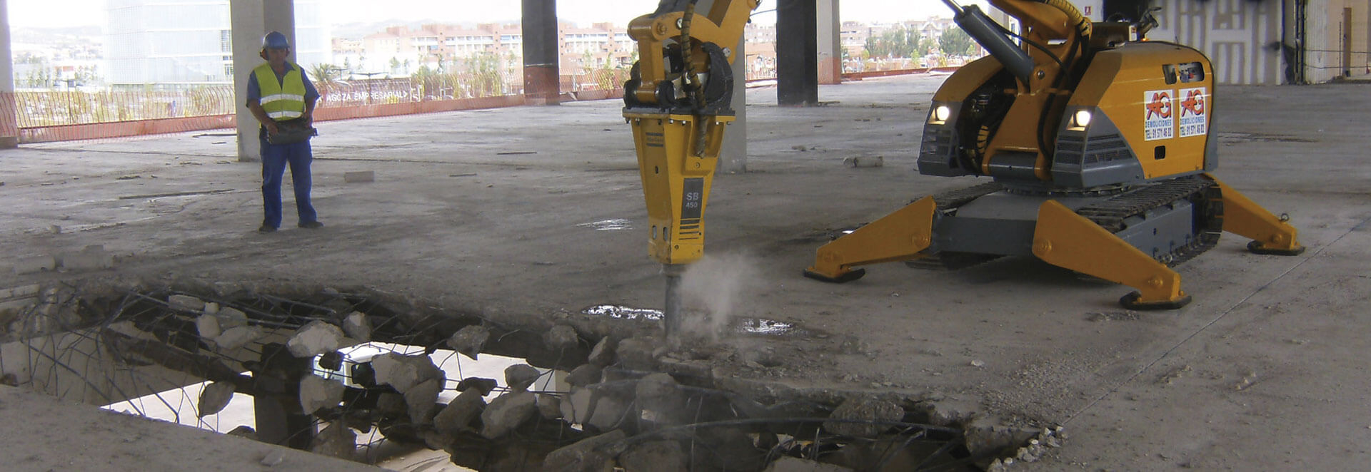 Demoliciones - Empresa de demoliciones - AG Construcciones