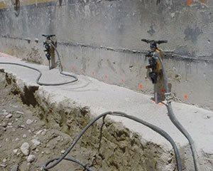 AG Construcciones - Corte y perforación - QUEBRANTADORES HIDRÁULICOS DARDA
