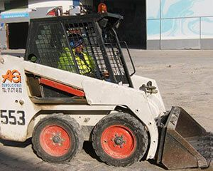 AG Construcciones - Maquinaria ligera - BOBCAT 553