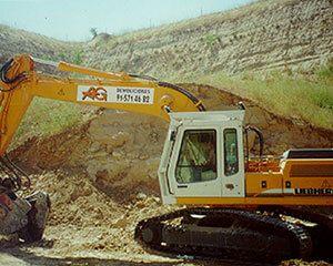 AG Construcciones - Maquinaria pesada - LIEBHERR 914