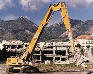 AG Construcciones - Maquinaria pesada - LIEBHERR R954B