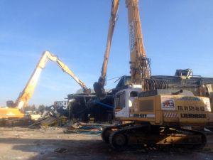 Retirada de amianto y demolición de los edificios de OCV Reinforcements