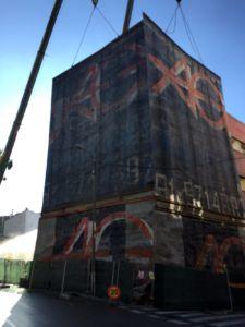 Demolición de edificio en Madrid - AG Construcciones