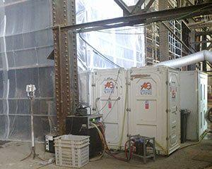 AG Construcciones - Desmontaje de amianto - CÁPSULA DE DESAMIANTADO