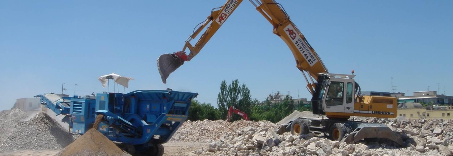 Empresa de demoliciones - AG Construcciones